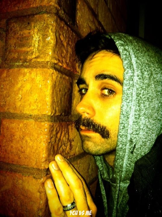 moustache-wall