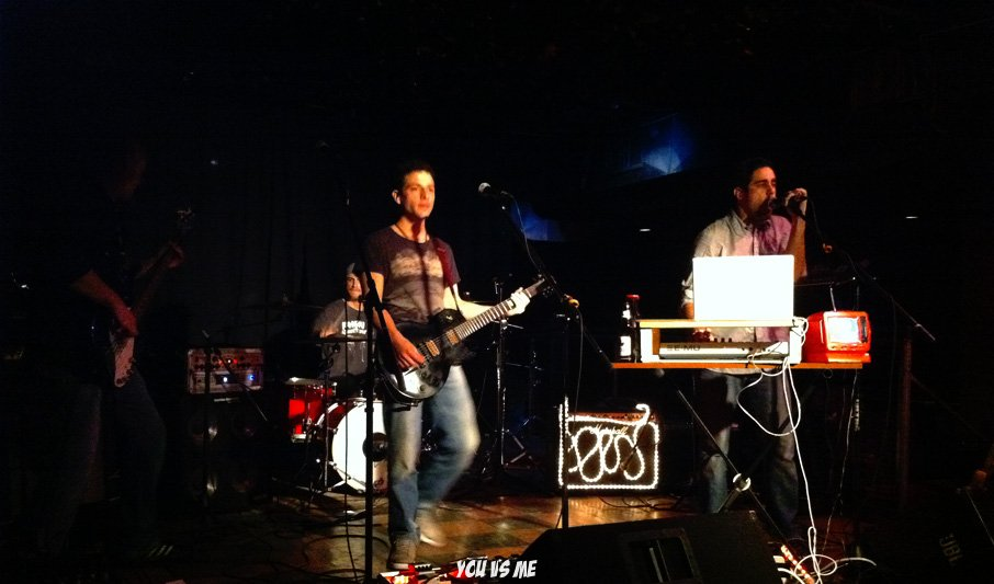 You vs Me at The Velvet Underground Dec 2011 - Mykle and ChrisP