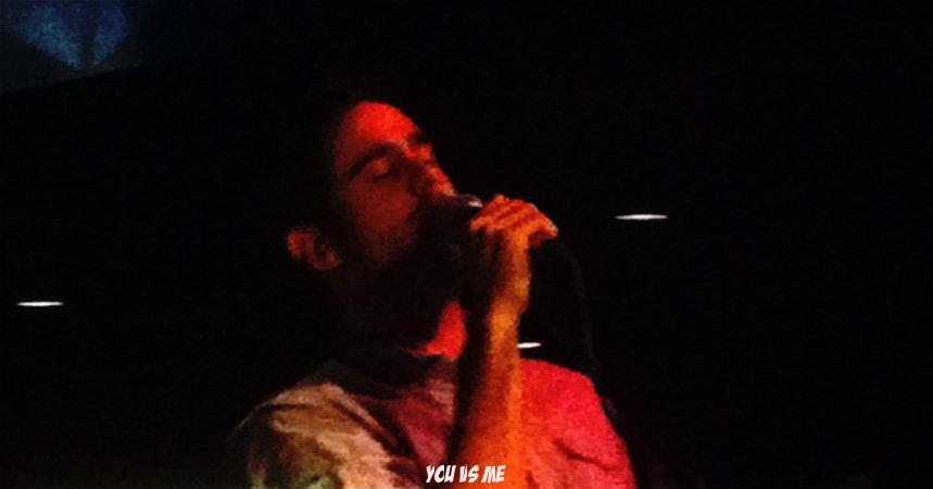 You vs Me at The Velvet Underground Dec 2011 - ChrisP in red